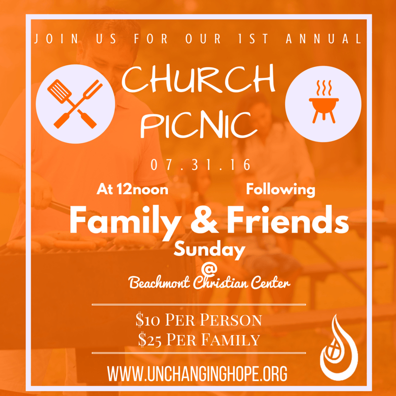 We want you to join us for this incredible day of fellowship and family fun!